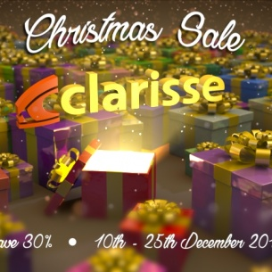 Christmas Sale: save 30% on your Clarisse iFX Freelance license!
