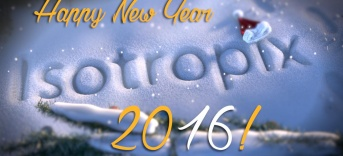 Happy New Year from the Isotropix Team