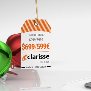 Clarisse new offers and pricing!