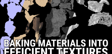 Baking Materials Into Efficient Textures