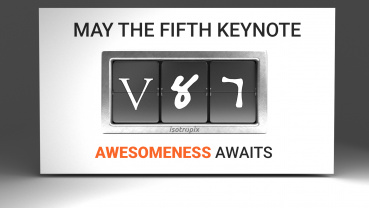May The Fifth Keynote